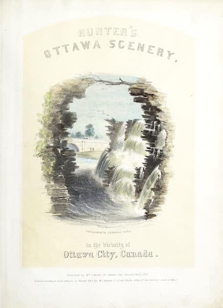 Hunter's Ottawa Scenery - Title Page (1855)