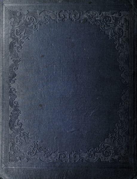 Hunter's Ottawa Scenery - Back Cover (1855)