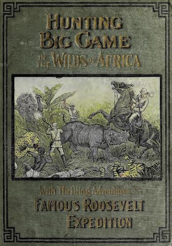 Aquatint & Lithography - Hunting Big Game in the Wilds of Africa