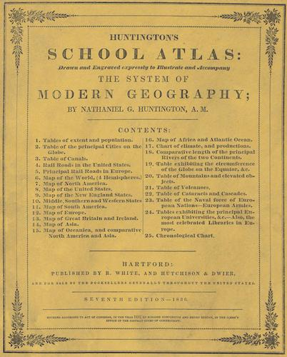 World - Huntington's School Atlas
