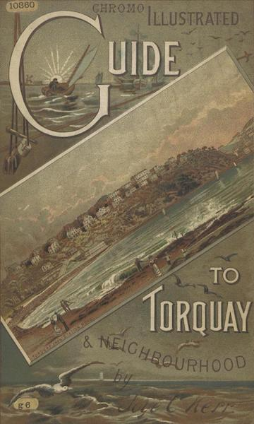 Illustrated Guide to Torquay and Neighbourhood - Front Cover (1884)