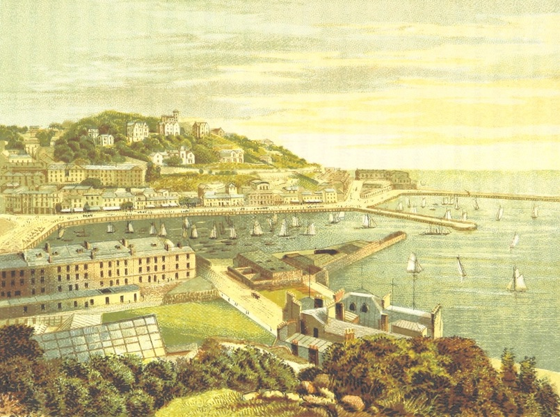 Illustrated Guide to Torquay and Neighbourhood - Torquay from Waldon Hall (1884)