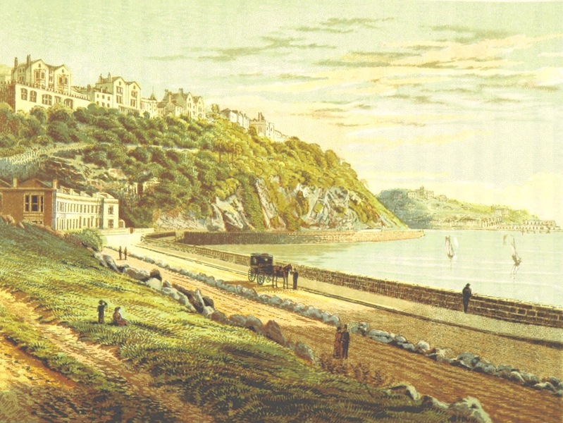 Illustrated Guide to Torquay and Neighbourhood - Torbay Road, Torquay (1884)