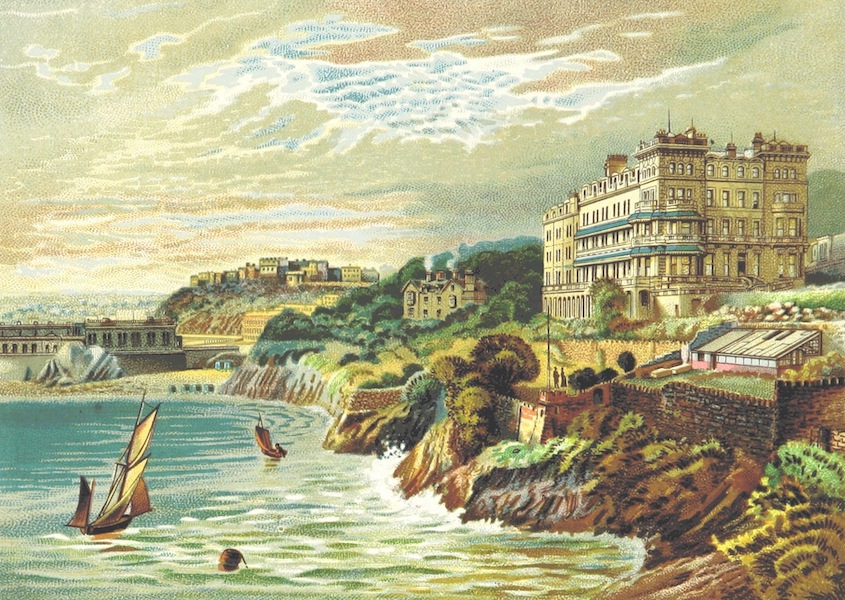 Illustrated Guide to Torquay and Neighbourhood - Imperial Hotel, Torquay (1884)