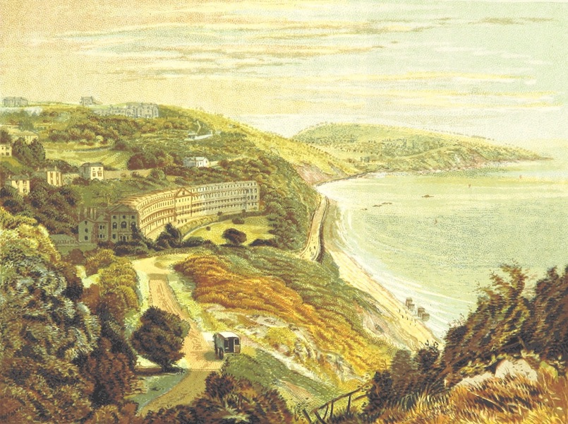 Illustrated Guide to Torquay and Neighbourhood - Hesketh Crescent, Torquay (1884)