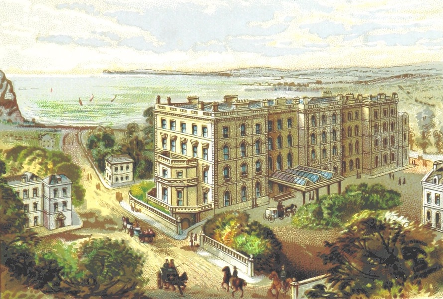 Illustrated Guide to Torquay and Neighbourhood - Victoria and Albert Hotel, Torquay (1884)