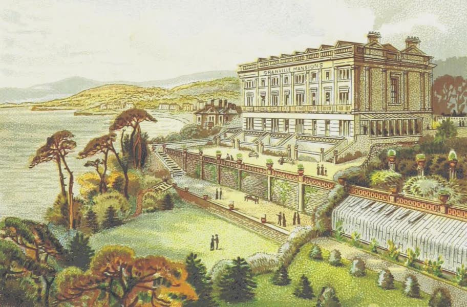 Illustrated Guide to Torquay and Neighbourhood - The Torquay Hydropathic Establishment, Granville Mansions, Torquay (1884)