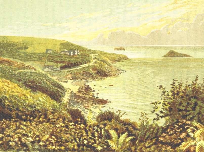 Illustrated Guide to Torquay and Neighbourhood - Kilmorie Meadfoot, Torquay (1884)