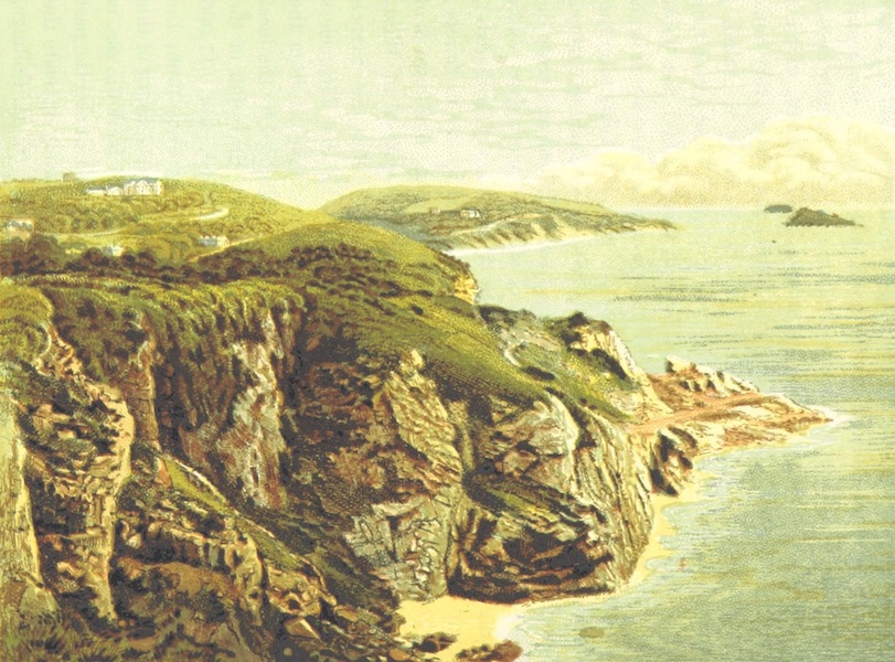 Illustrated Guide to Torquay and Neighbourhood - Daddy Hole, Torquay (1884)