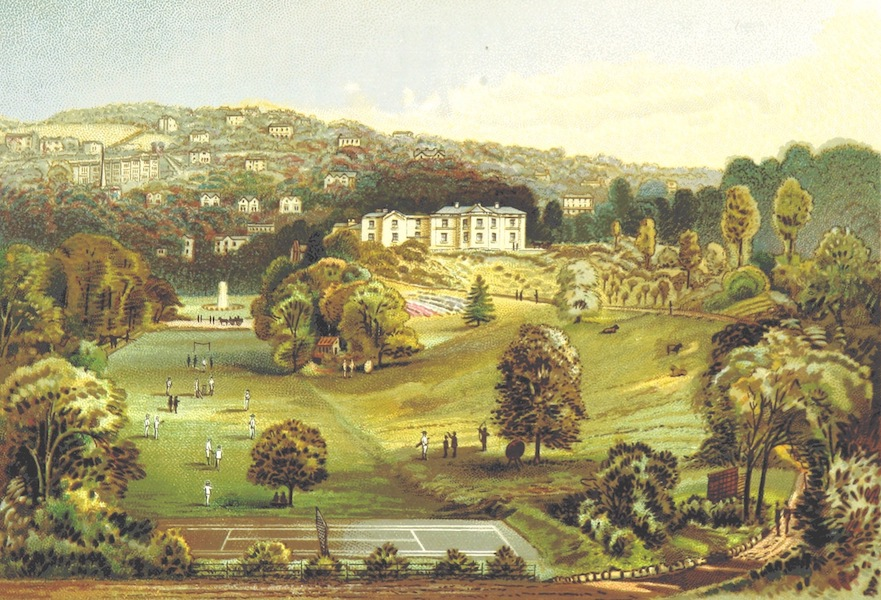 Illustrated Guide to Torquay and Neighbourhood - The College, Aspley House (1884)