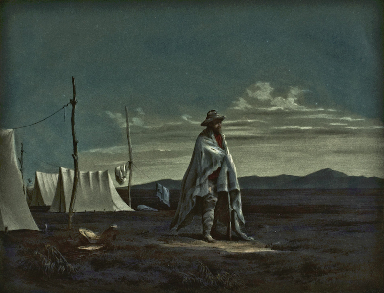 Illustrated Notes of an Expedition through Mexico and California - The Night Watch (1852)
