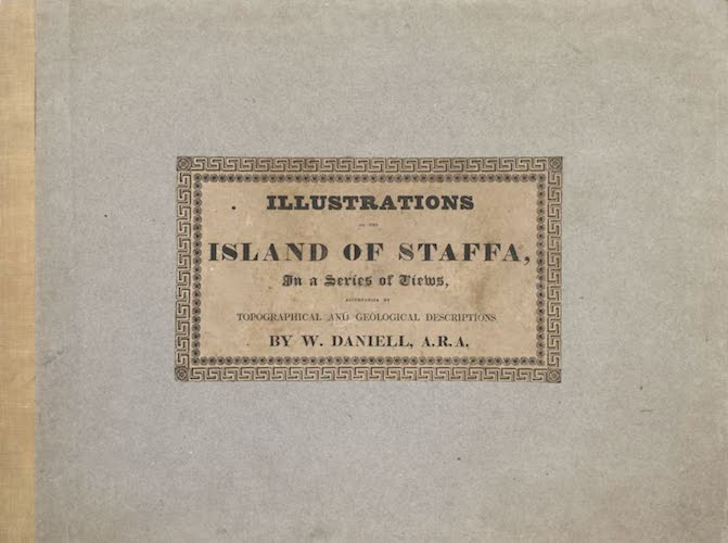 English - Illustrations of the Island of Staffa