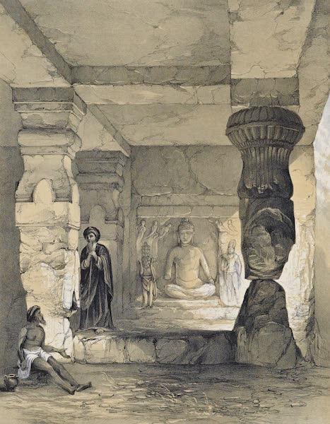 Interior of Small Vihara