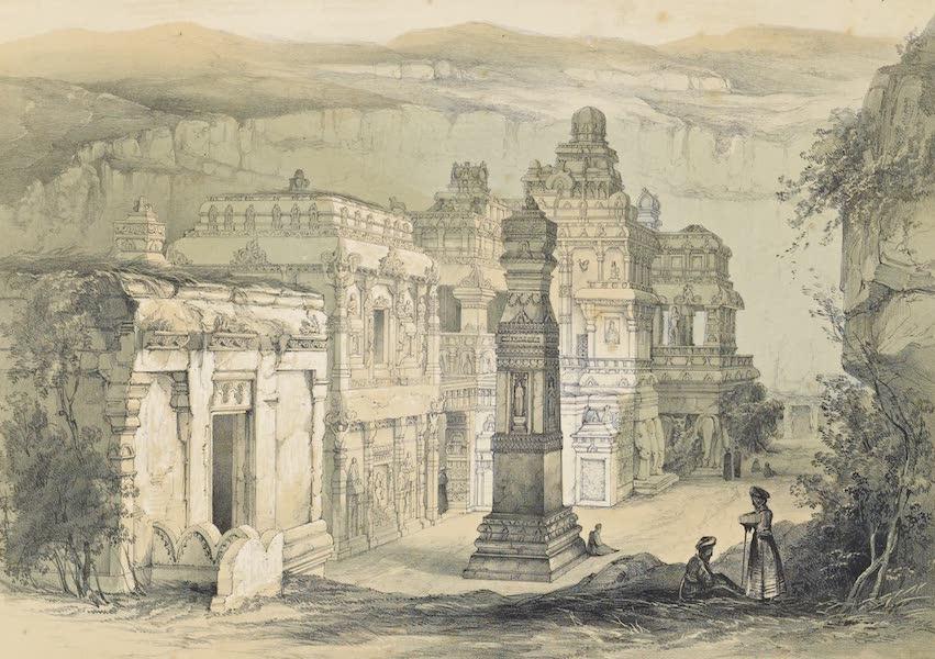 Illustrations of the Rock-Cut Temples of India [Atlas] - Kylas (1865)