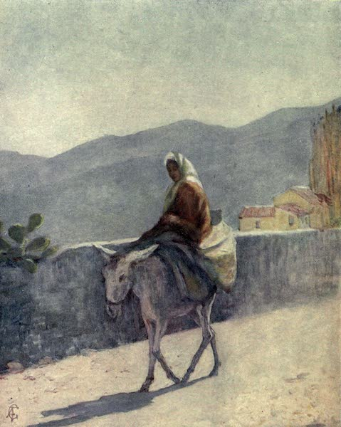 In the Track of Moors - On the High Road, Ronda (1905)