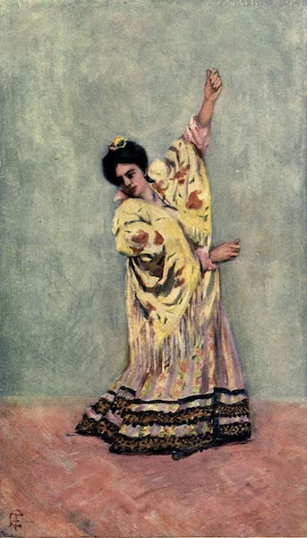 In the Track of Moors - Spanish Gipsy Dancing the Tanga (1905)