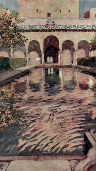 In the Track of Moors - The Court of the Myrtles, The Alhambra (1905)
