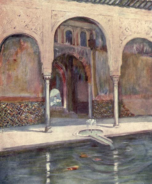 In the Track of Moors - Hall of the Ambassadors, The Alhambra (1905)