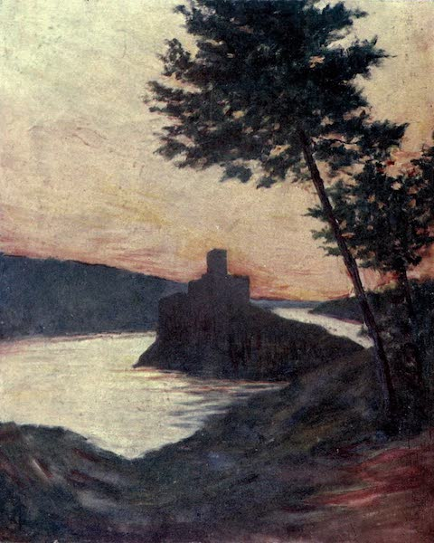In the Track of Moors - The Castle of Amourel On the Tagus, Portugal (1905)