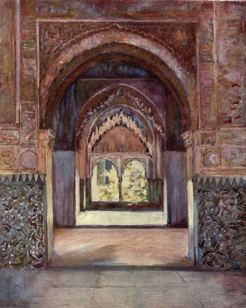 In the Track of Moors - Gate of the Two Sisters, The Alhambra (1905)