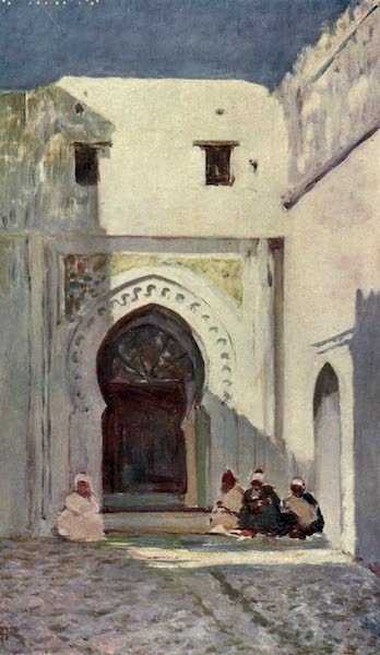 In the Track of Moors - Entrance to the Sultan's Palace, Tangiers (1905)