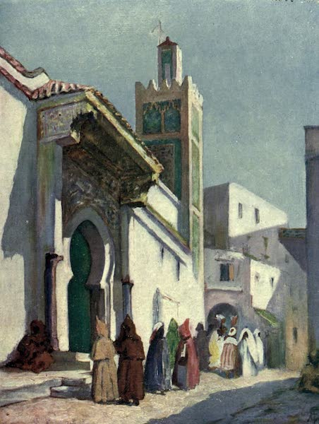 In the Track of Moors - The Great Mosque, Tangiers (1905)