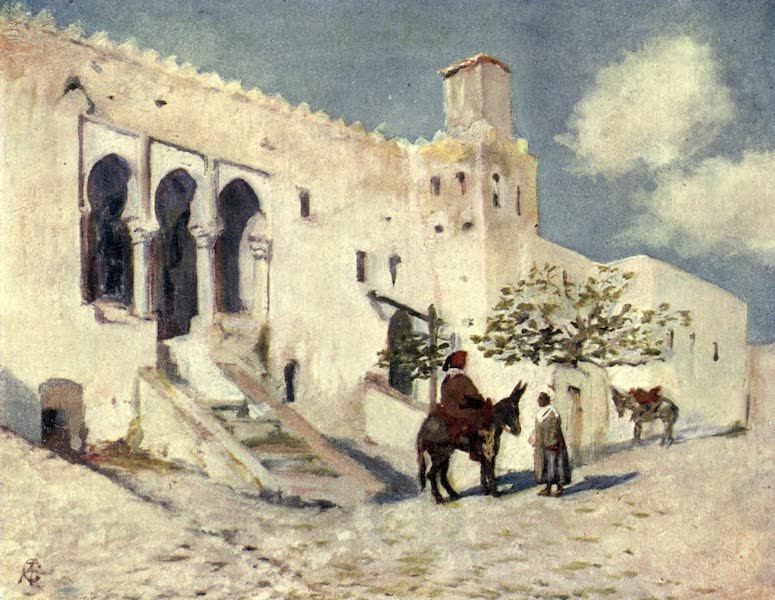 In the Track of Moors - The Prison at Tangiers (1905)