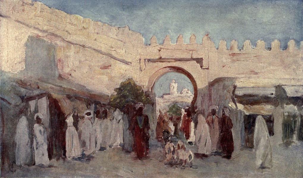In the Track of Moors - Town Gateway, Kairowan (1905)