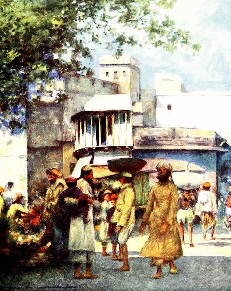 India by Mortimer Menpes - Agra (1905)
