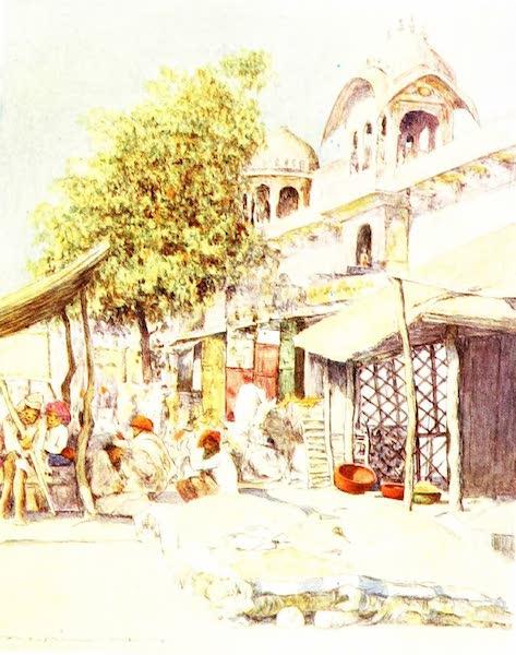 India by Mortimer Menpes - Jeypore at Noon (1905)