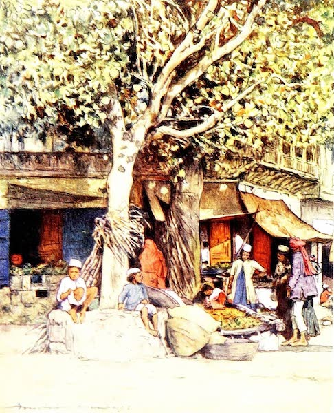 India by Mortimer Menpes - Mid-day, Delhi (1905)