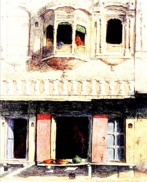India by Mortimer Menpes - At Lahore (1905)