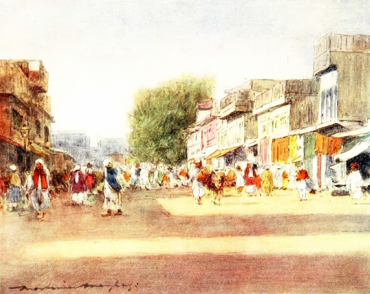 India by Mortimer Menpes - Peshawur (1905)