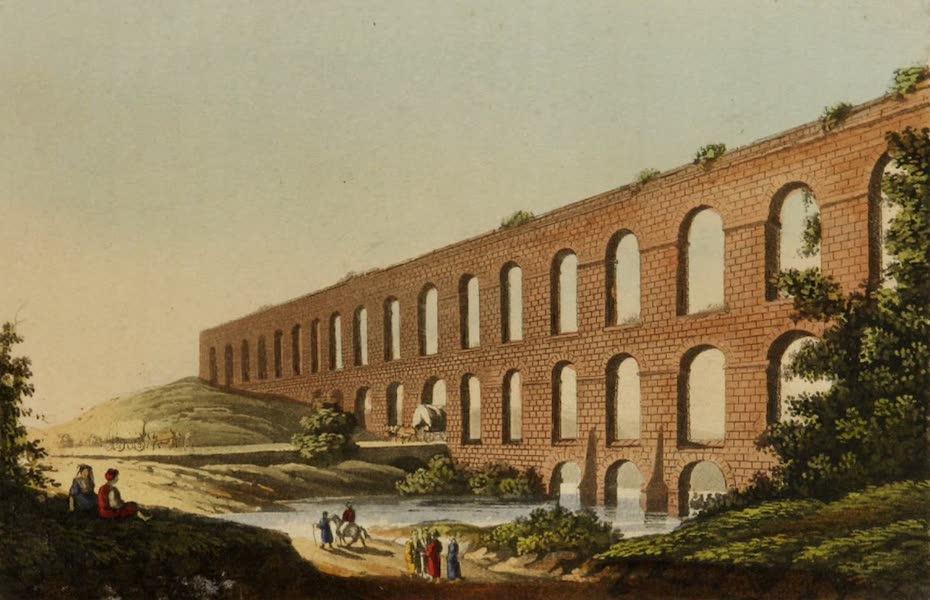 Interesting Views in Turkey - Aqueduct near Belgrade (1819)