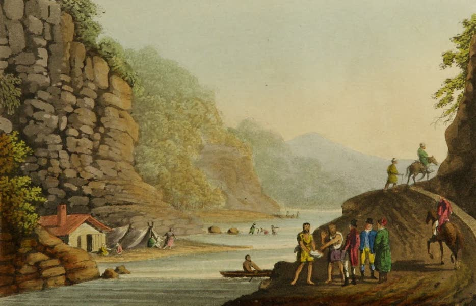 Interesting Views in Turkey - View on the Aluta (1819)