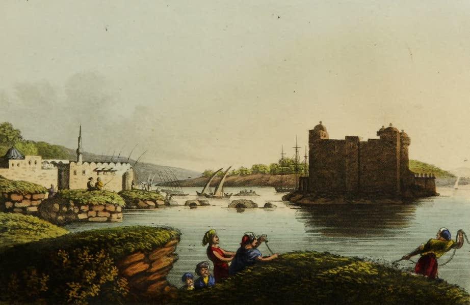 Interesting Views in Turkey - Port of Latachia (1819)