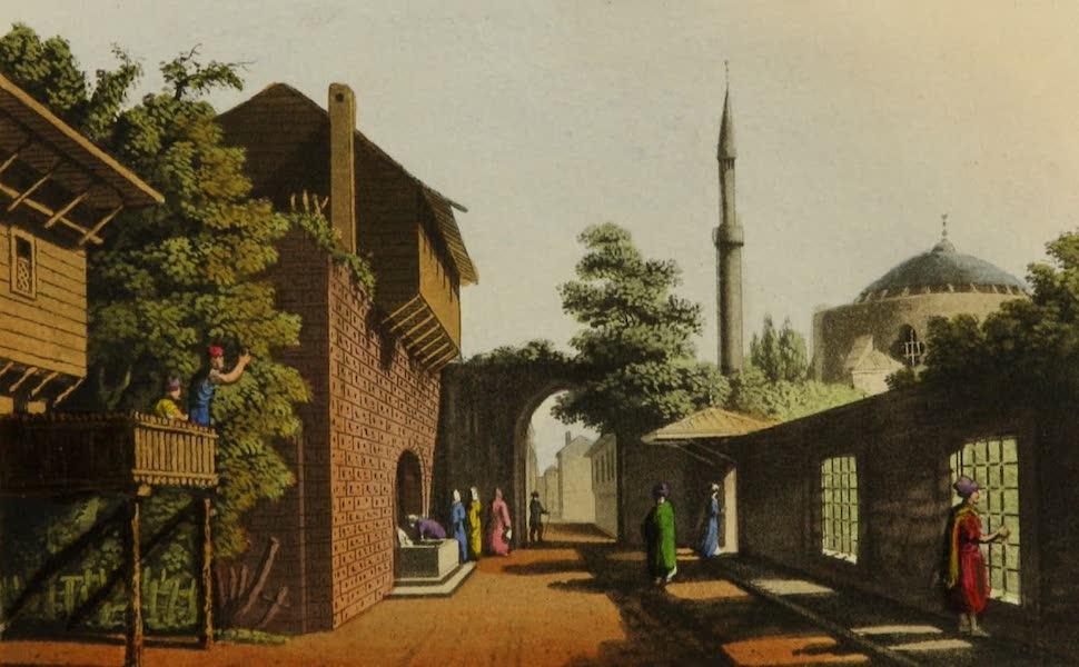 Interesting Views in Turkey - Eski Estambol (1819)