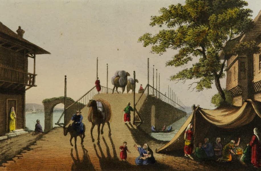 Interesting Views in Turkey - Ponte Piccolo (1819)