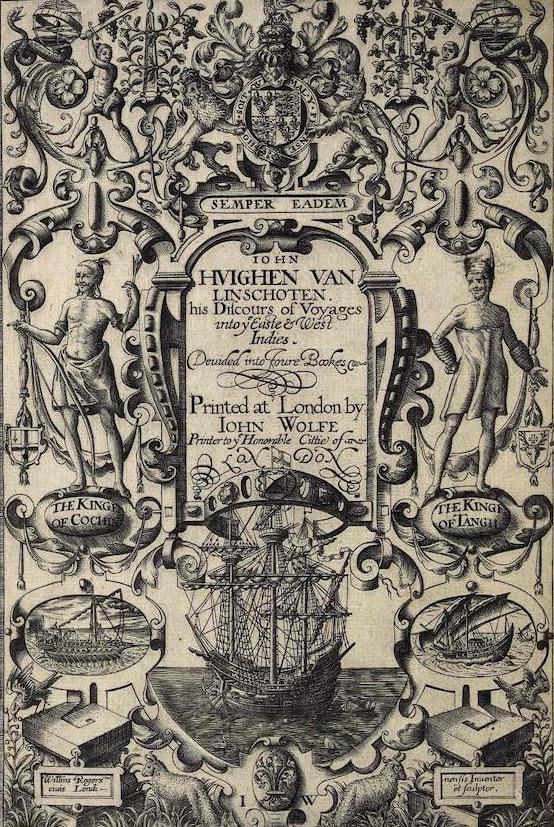 Library of Congress - Iohn Huighen van Linschoten His Discours of Voyages