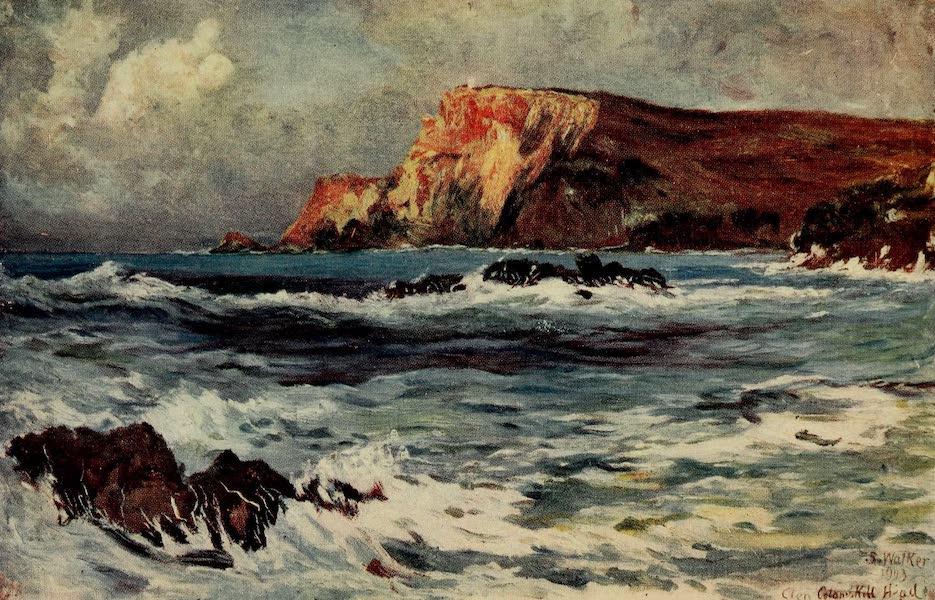 Ireland Painted and Described - Glen Columbkille Head (1907)