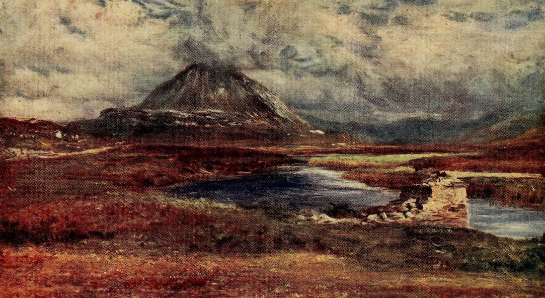 Ireland Painted and Described - Mount Errigal (1907)