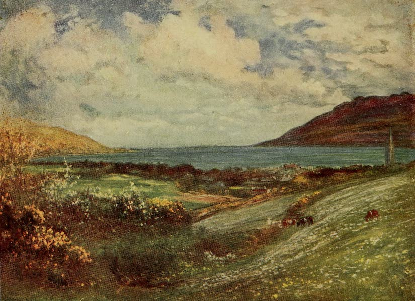 Ireland Painted and Described - Carlingford Lough (1907)