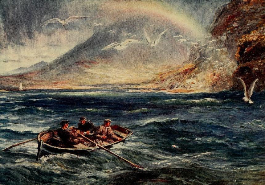 Ireland Painted and Described - Deep-sea Fishing, Killery Bay (1907)