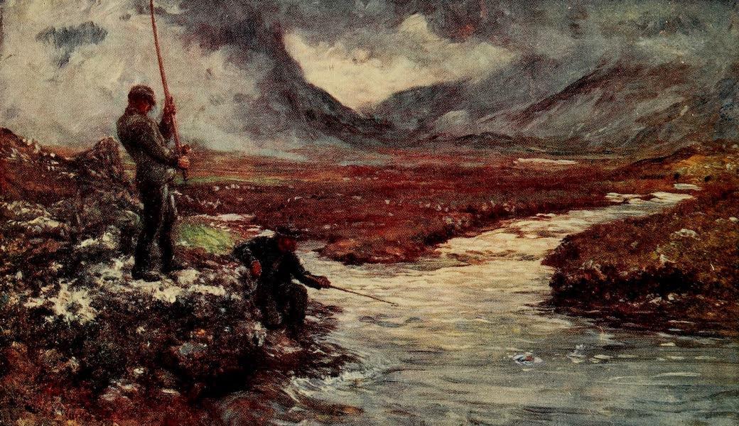 Ireland Painted and Described - Salmon-Fishing, Connemara (1907)