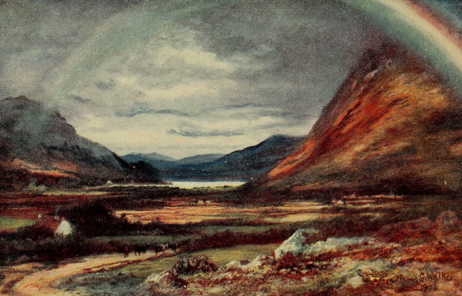 Ireland Painted and Described - The Pass of Kylemore (1907)