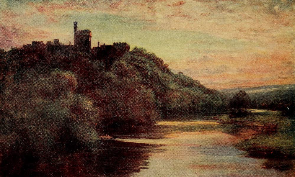 Ireland Painted and Described - Lismore Castle (1907)