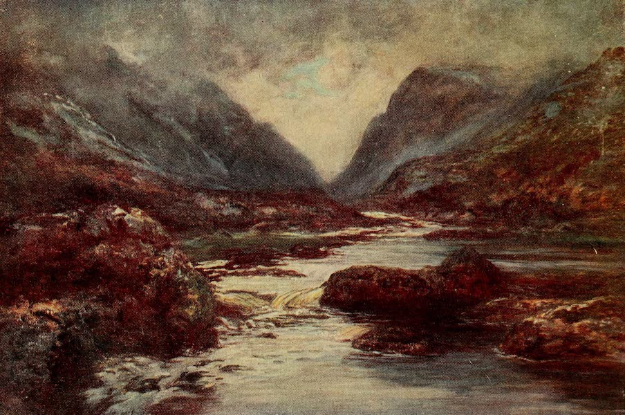 Ireland Painted and Described - The Gap of Dunloc (1907)