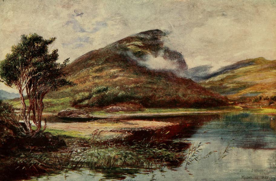 Ireland Painted and Described - The Eagle's Nest (1907)