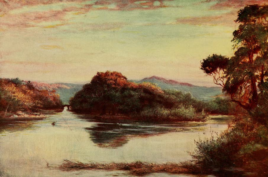Ireland Painted and Described - The Meeting of the Waters, Killarney (1907)