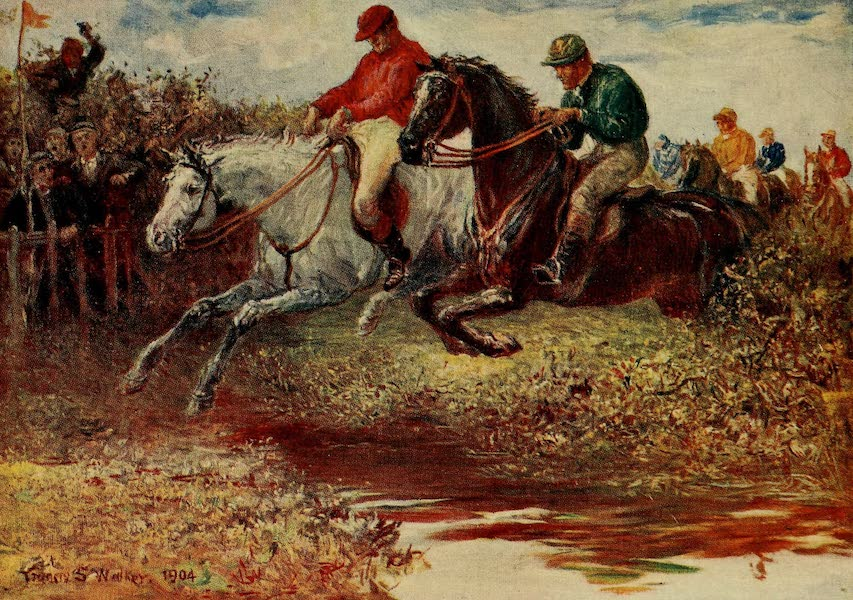 Ireland Painted and Described - Steeplechasing (1907)